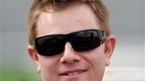 Jason Leffler is seen at Lowe's Motor Speedway