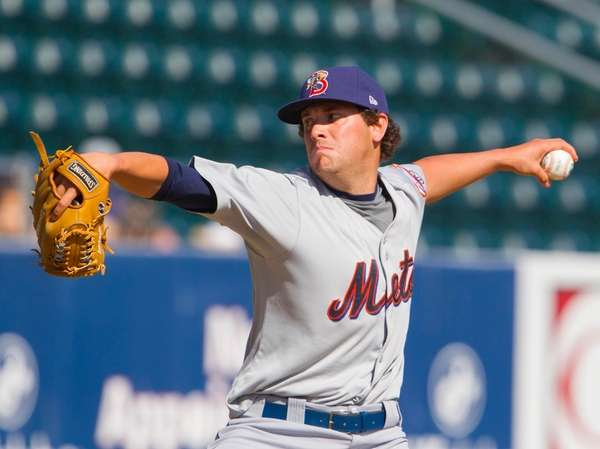 Mets reliever Jack Leathersich has posted eye-popping strikeout