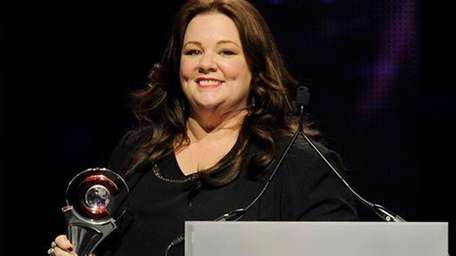 Melissa McCarthy wins the female star of the