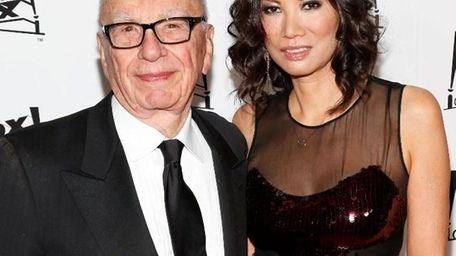 Rupert Murdoch and wife Wendi