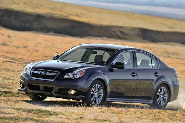 The 2013 Subaru Legacy gets an estimated 24/21
