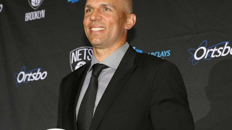 Jason Kidd is announced as the new head