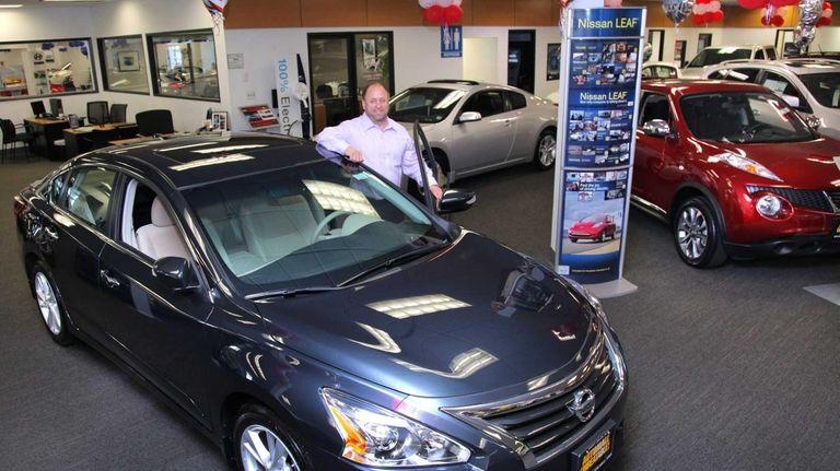 Japanese carmaker Nissan made inroads on Long Island