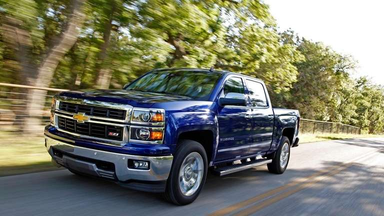 2014 chevrolet silverado is giant vehicle with compact handle newsday