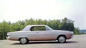 A 1963 Dodge Dart suddenly created a lot