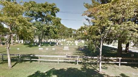 Quogue Cemetery, at 58 Lamb Ave., was nominated