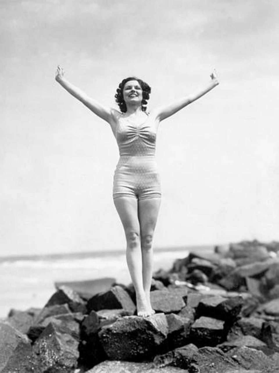 Rose Veronica Coyle, of Philadelphia, Miss America 1936.