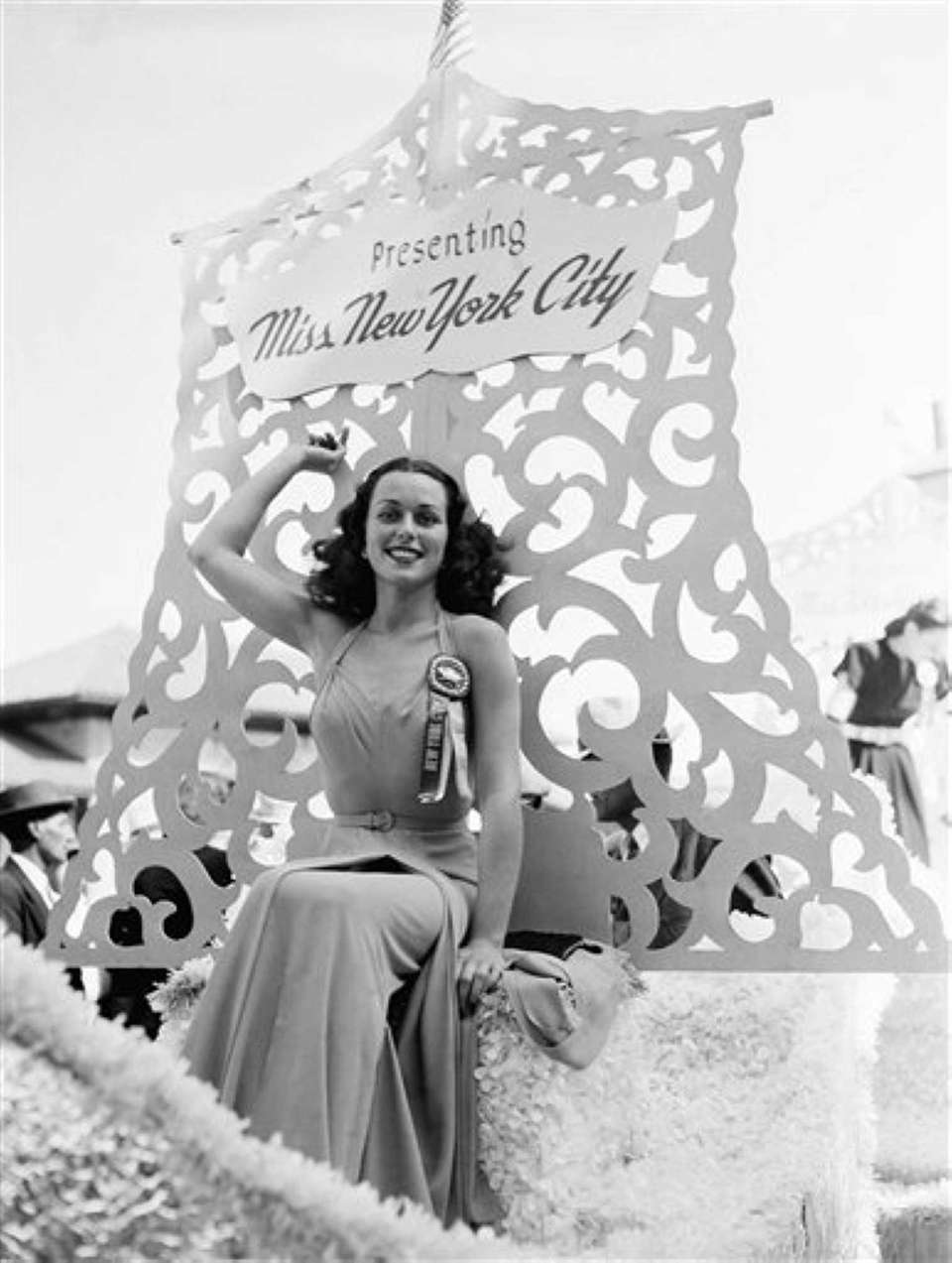 Miss America, Bess Myerson, of New York City,