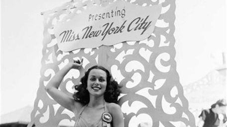 Miss America, Bess Myerson, of New York City,