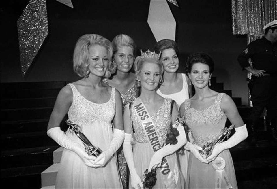 The new Miss America of 1970, Pamela Anne