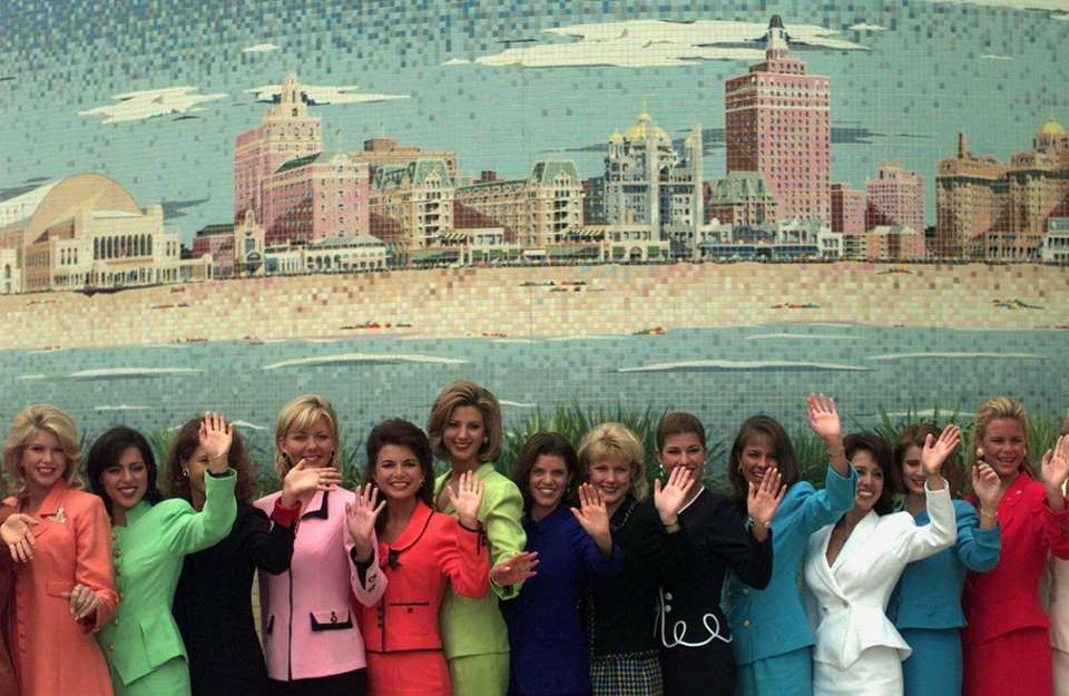 Thirteen of the 51 Miss America contestants in