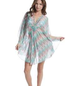 Hamptons' haute requires a silky cover-up, like Shoshanna's
