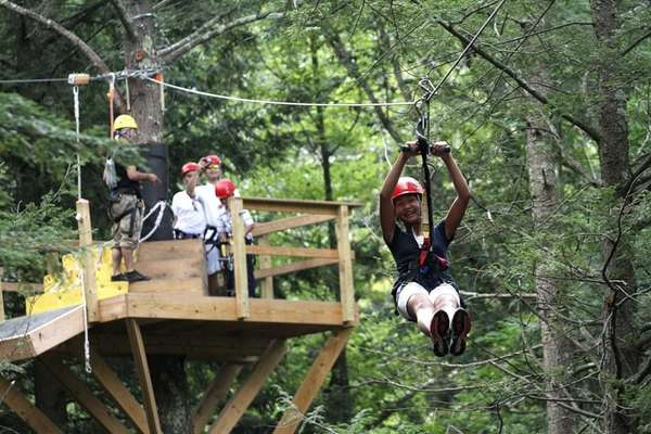 In December 2010, New York Zipline Adventures opened