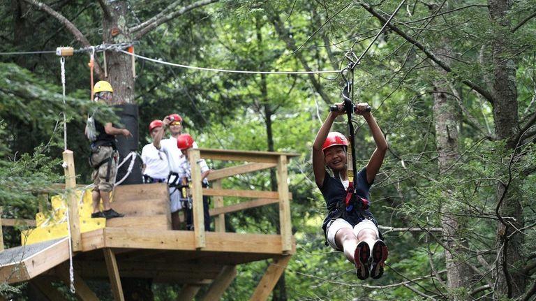 In December 2010, New York Zipline Adventures opened