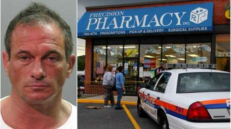 Left:This police photo shows Marc Gumpert, 43, of