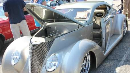 A 1937 Ford Street Rod owned bt Mike
