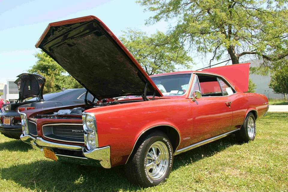 A 1966 Pontiac LeMans owned by John Avellino