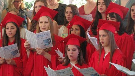 The Upper School choir performed