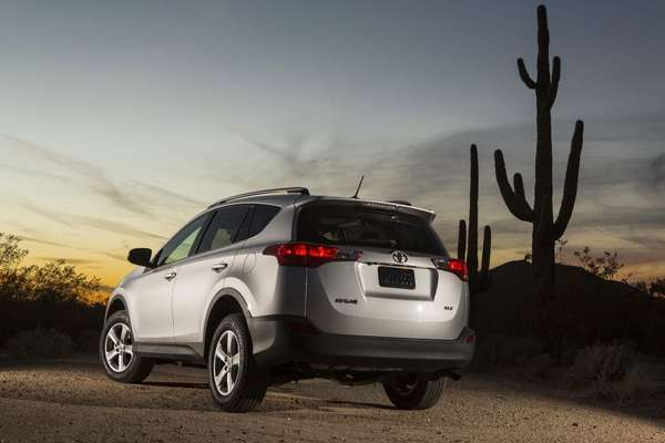 The 2013 Toyota Rav4 is sleek, highly affordable,