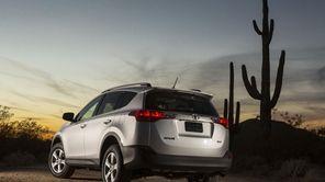 The 2013 Toyota Rav4 is sleek, highly affordable,