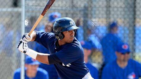 New York Yankees minor league second baseman Angelo