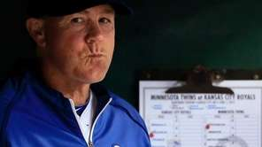 Kansas City Royals manager Ned Yost at Kauffman