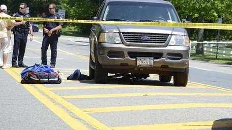 A female bicyclist, 14, was killed in a