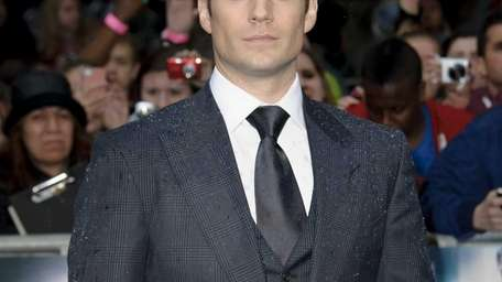 British actor, Henry Cavill arrives for the European