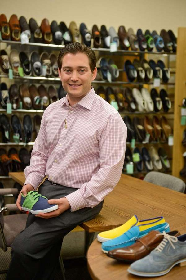 Jason Lazar, who has about 30 pairs of