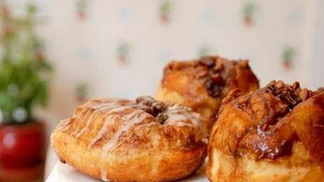 Pecan Raisin Sticky Buns at Hill Country Chicken