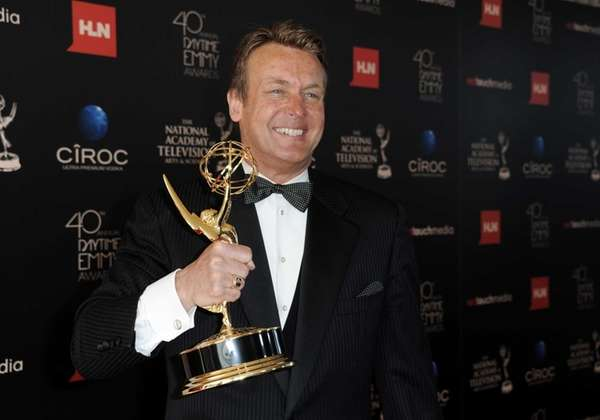 Doug Davidson, winner of the award for outstanding