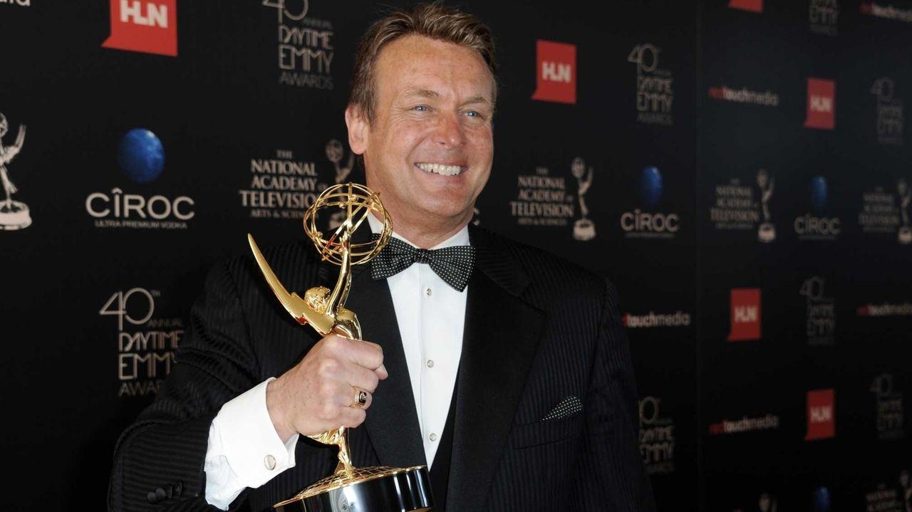 Doug Davidson, winner of the award for outstanding
