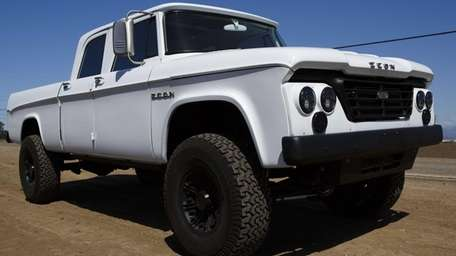 The 1965 Dodge D200 was completely reworked with