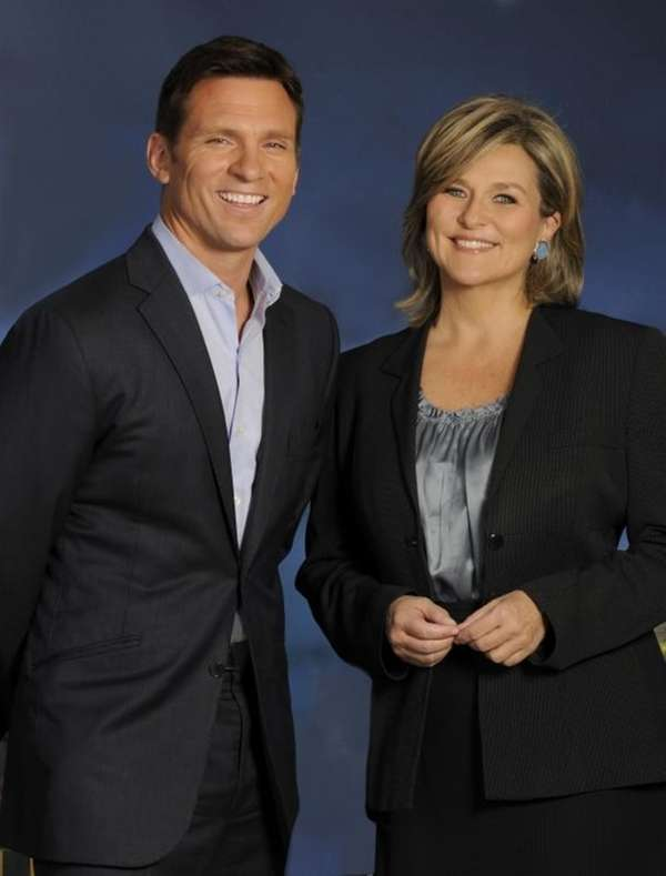 Bill Weir and Cynthia McFadden of the
