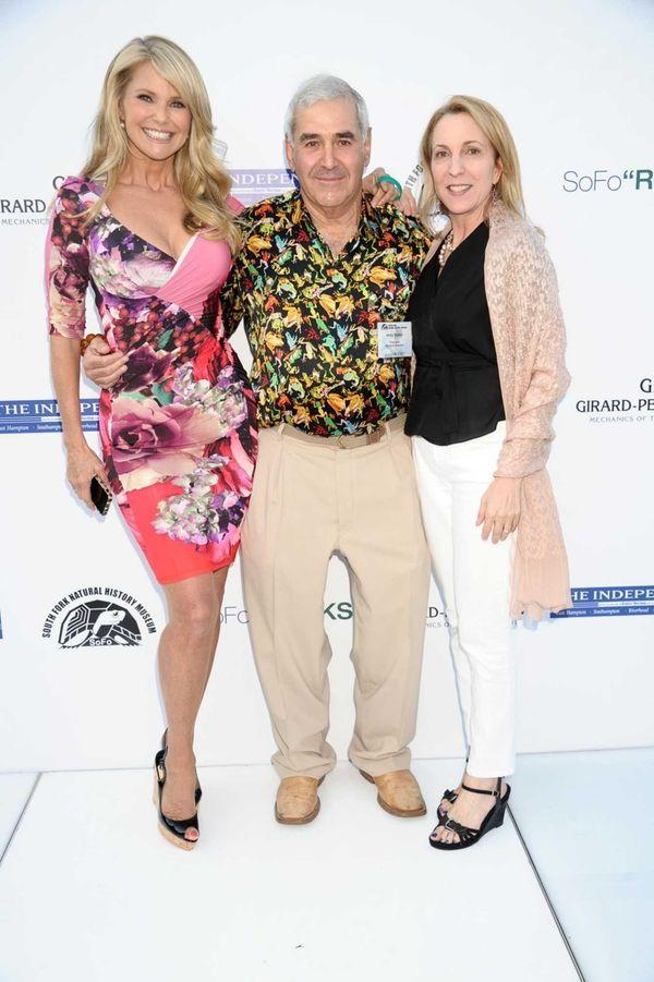 Christie Brinkley, Andy Sabin, and honoree Susan Rockefeller