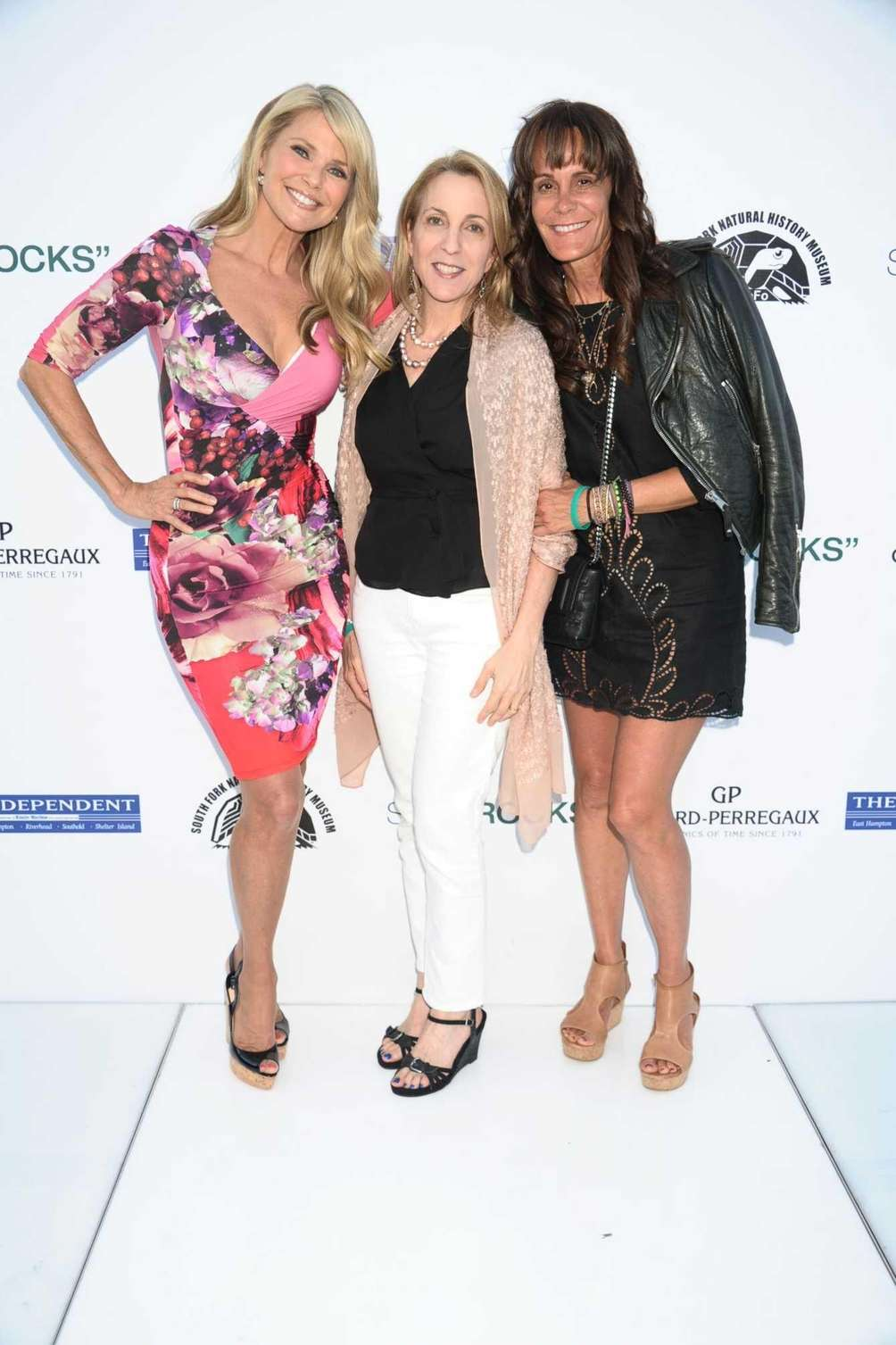 Christie Brinkley, Susan Rockefeller, and Julie Gilhart