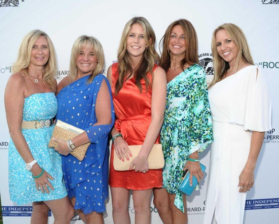 Susanne Whitmore, Janis Rost, Lauren Gabrielson, Caroline Fox,