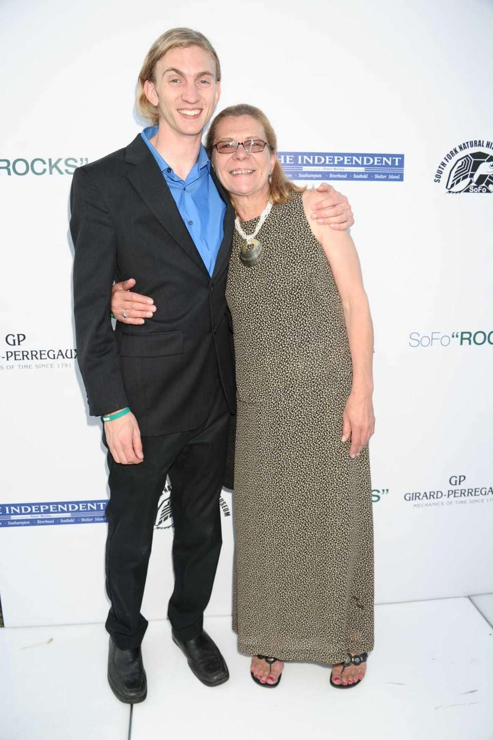 Tyler Armstrong and Wendy Armstrong attend the SOFO