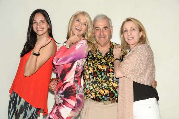 Fernanda Zapata, Christie Brinkley, Andy Sabin, Susan Rockefeller