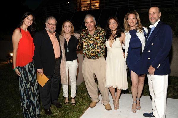 Fernanda Zapata, David Rockefeller, Susan Rockefeller, Andy Sabin,