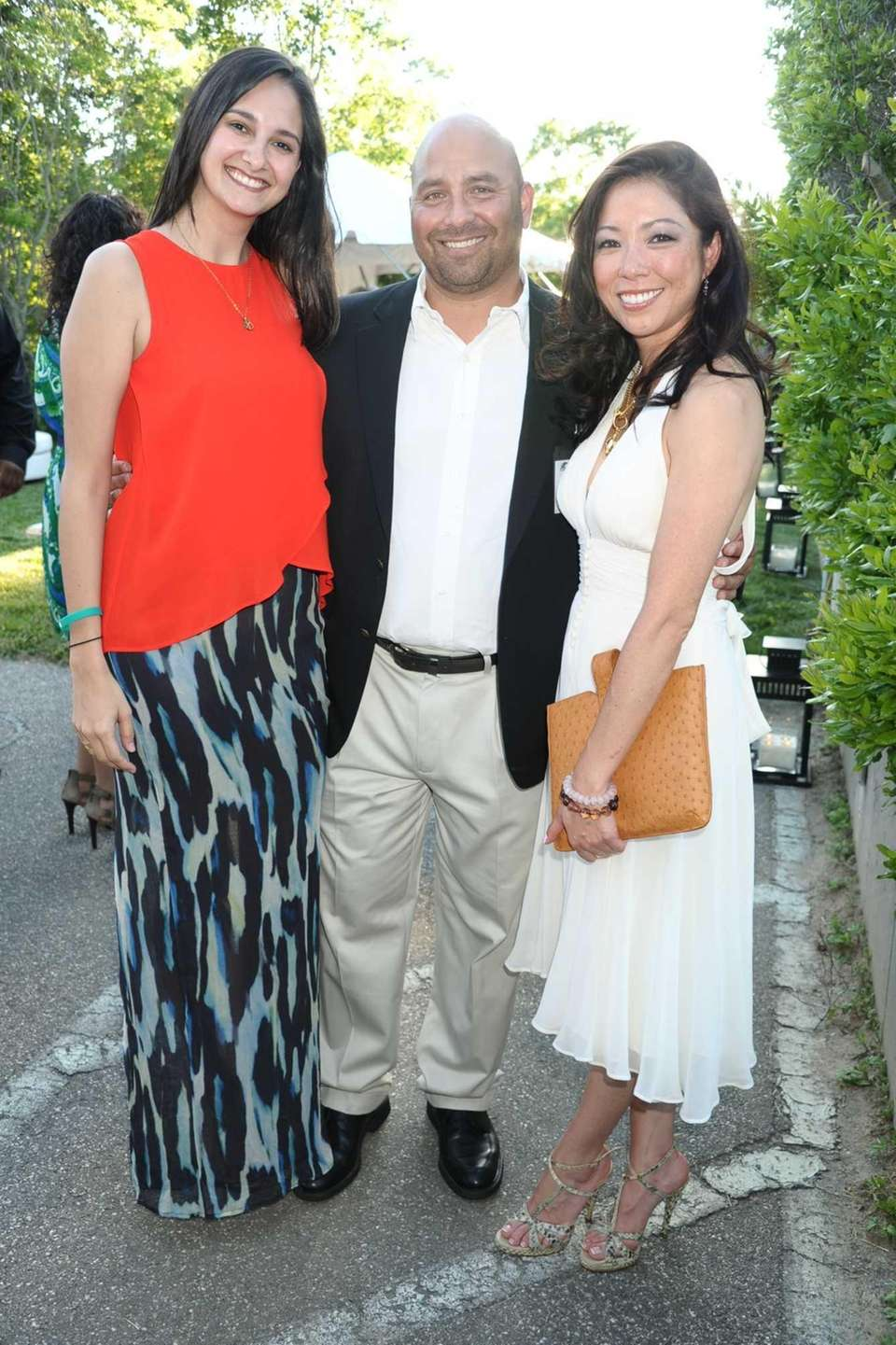 Fernanda Zapato, Frank Ocevedo, and Amy Ma attend