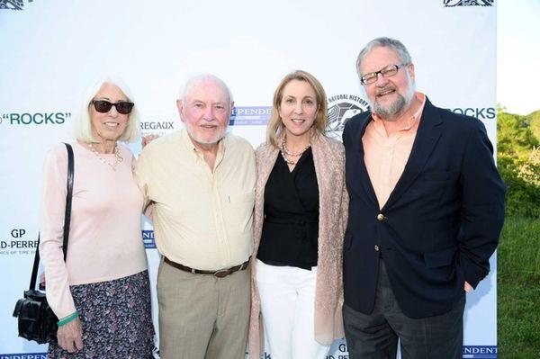 Helaine Lerner, Sid Lerner, Susan Rockefeller, and David