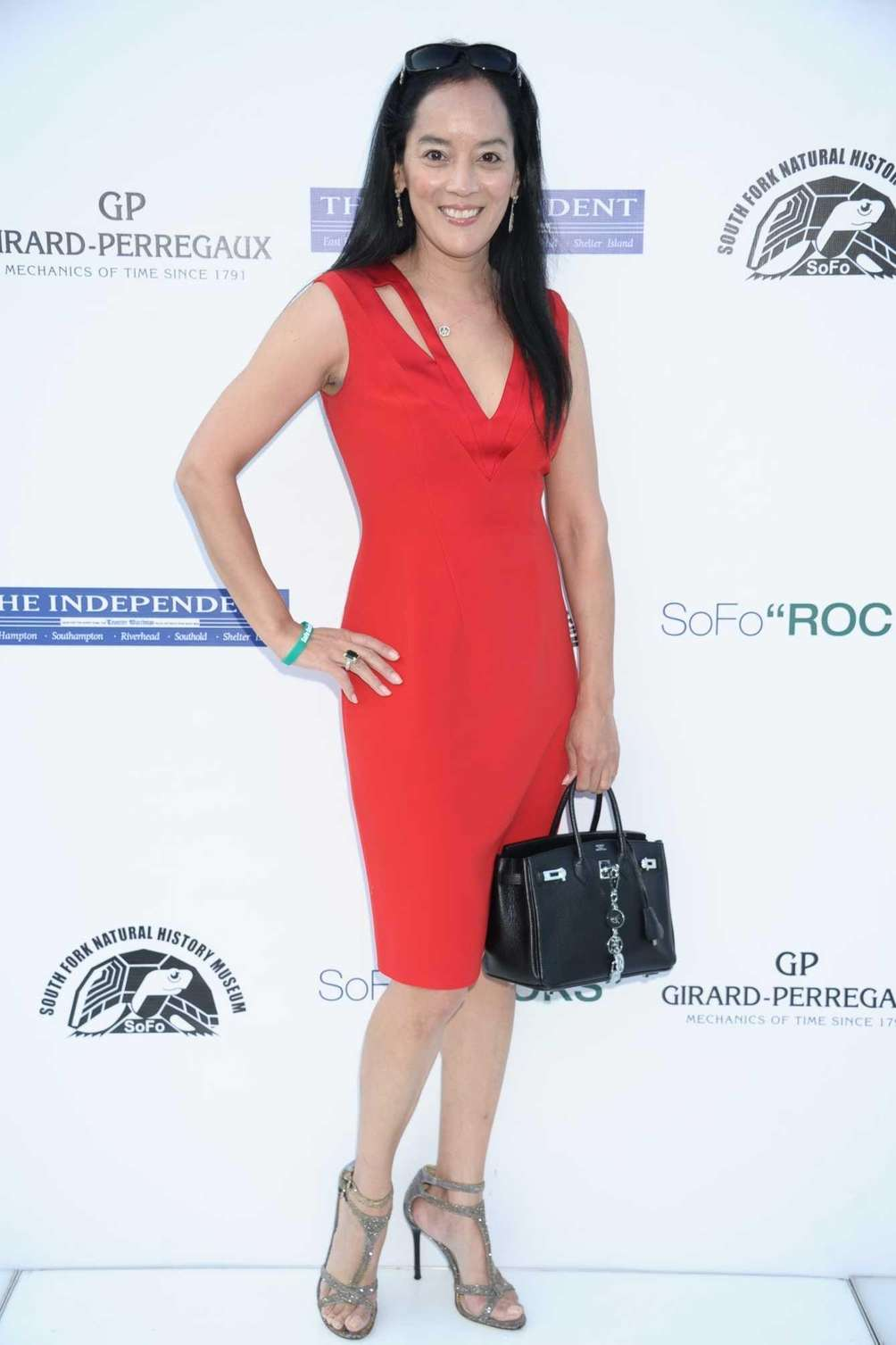 Cassandra Seidenfeld attends the SOFO Rocks benefit in