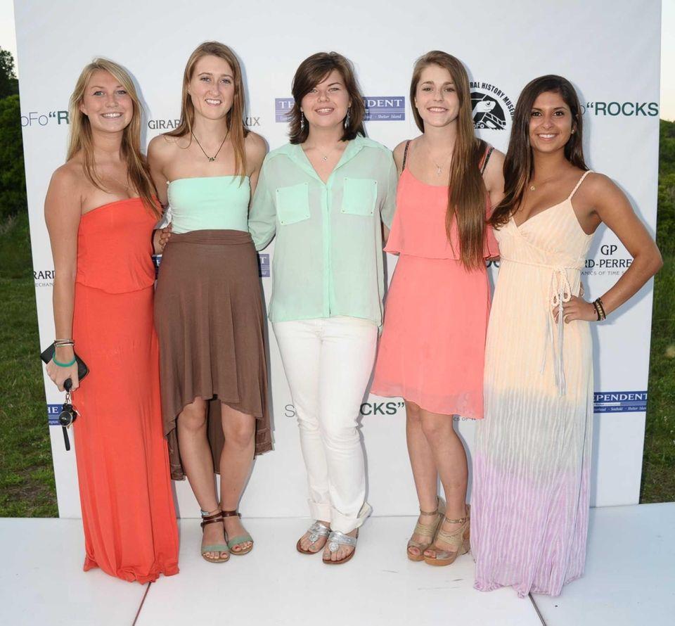 Christina Limonius , Shannon Card, Ashley Keyser, Kady