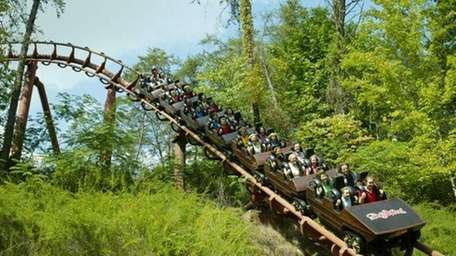 A ride on the Tennessee Tornado will be