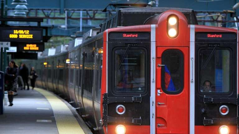 File photo of a Metro-North train in Connecticut.