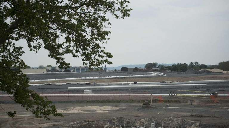 First phase of the development of new park