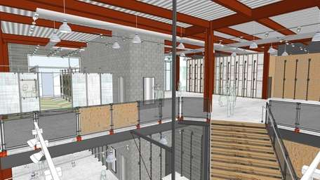 Interior renderings of the new Urban Outfitters store