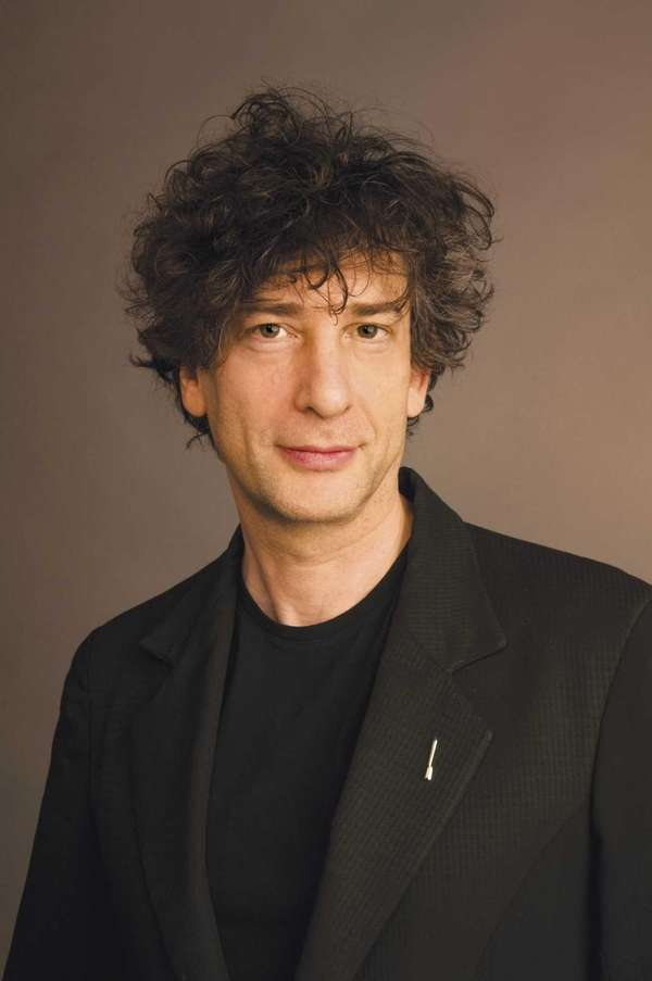 "Neil Gaiman, author of ""The Ocean at the"