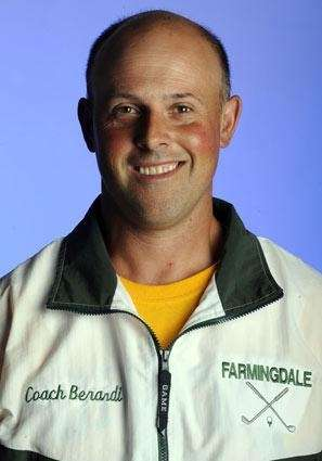 JOHN BERARDI Coach of the year, Farmingdale Led